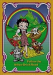 Betty Boop Yellow Brick Road Crochet Pattern