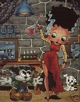 Betty Boop Bride Of Frankenstein Crochet Pattern