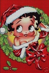 Christmas Betty Boop Crochet Pattern