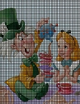 Alice & The Mad Hatter Crochet Pattern