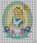 Alice In Wonderland Flowers Crochet Pattern