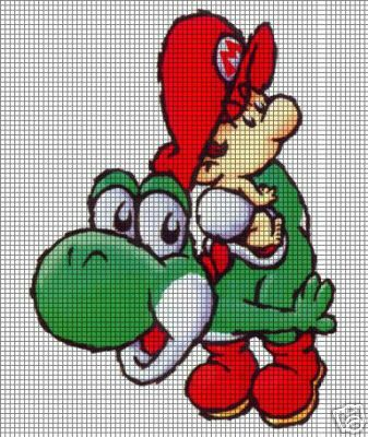 Cute Little Yoshi Crochet Pattern