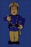 Fireman Sam Crochet Pattern