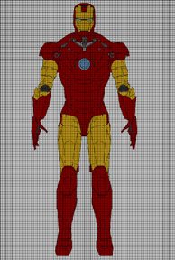 Pattern: Iron Man Amigurumi Iron man Crochet pattern and | Etsy | 288x194