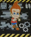 Jimmy Neutron Crochet Pattern