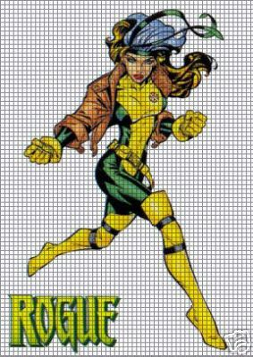 Rogue Superhero Crochet Pattern
