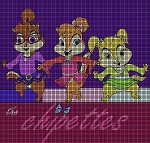 The Chipettes Crochet Pattern