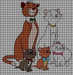 Aristocats Picture Crochet Pattern
