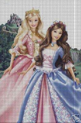 Barbie Princess & The Pauper Crochet Pattern