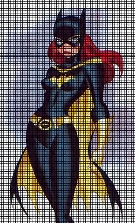 Sexy Batgirl Crochet Pattern