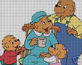 Bernstein Bears Family Crochet Pattern