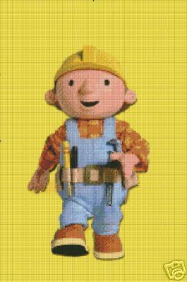 Bob The Builder Crochet Pattern