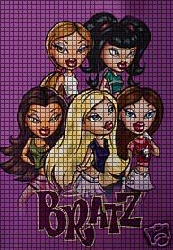 Bratz Group Crochet Pattern