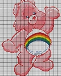 Care Bears Cheerful Bear Crochet Pattern