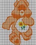 Care Bears Friendship Bear Crochet Pattern