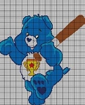 Care Bears Champ Bear Crochet Pattern
