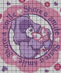 Care Bears Share A Smile Crochet Pattern
