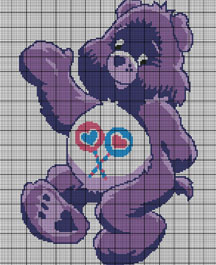 Care Bears Share Bear Crochet Pattern