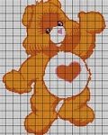 Care Bears Tenderheart Bear Crochet Pattern