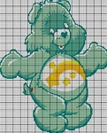 Care Bears Wish Bear Crochet Pattern