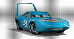 Cars - Strip Weathers The King Crochet Pattern