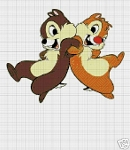 Chip & Dale Back To Back Crochet Pattern