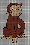 Curious George Sitting Crochet Pattern