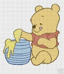 Baby Pooh With Honey Pot Crochet Pattern