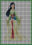 Princess Mulan Crochet Pattern