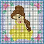 Disney Princess Belle Crochet Pattern