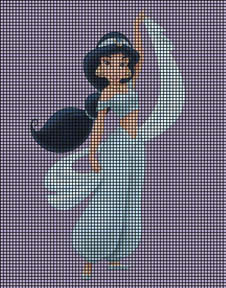 Princess Jasmine Crochet Pattern