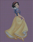 Princess Snow White Crochet Pattern