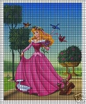 Sleeping Beauty Picture Crochet Pattern