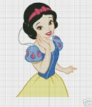 Snow White Face Crochet Pattern