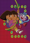 Dora The Explorer Let's Go Crochet Pattern