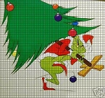 Grinch I'll Fix Christmas Crochet Pattern