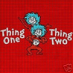 Thing One & Thing Two Crochet Pattern