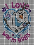 Olaf Warm Hugs Crochet Pattern