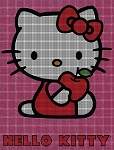 Hello Kitty Apple Crochet Pattern