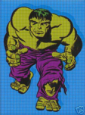 Big Hulk Crochet Pattern