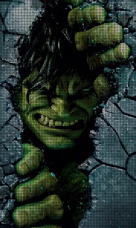 The Hulk Free Crochet Pattern • Spin a Yarn Crochet | 450x269