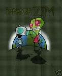Invader Zim Crochet Pattern