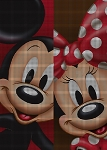 Mickey & Minnie Faces Crochet Pattern