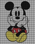 Mickey Sitting Crochet Pattern