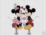 Mickey & Minnie Soda Shop Crochet Pattern