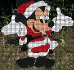 Mickey Santa Suit Crochet Pattern