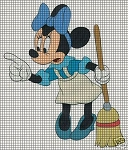 Minnie Mouse Broom Crochet Pattern