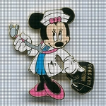 Minnie Mouse Nurse Crochet Pattern