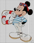 Sailor Mickey Crochet Pattern