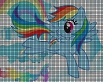 My Little Pony - Rainbow Dash Crochet Pattern